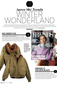 WINTER WONDERLAND Trends in FREIZEIT Kurier