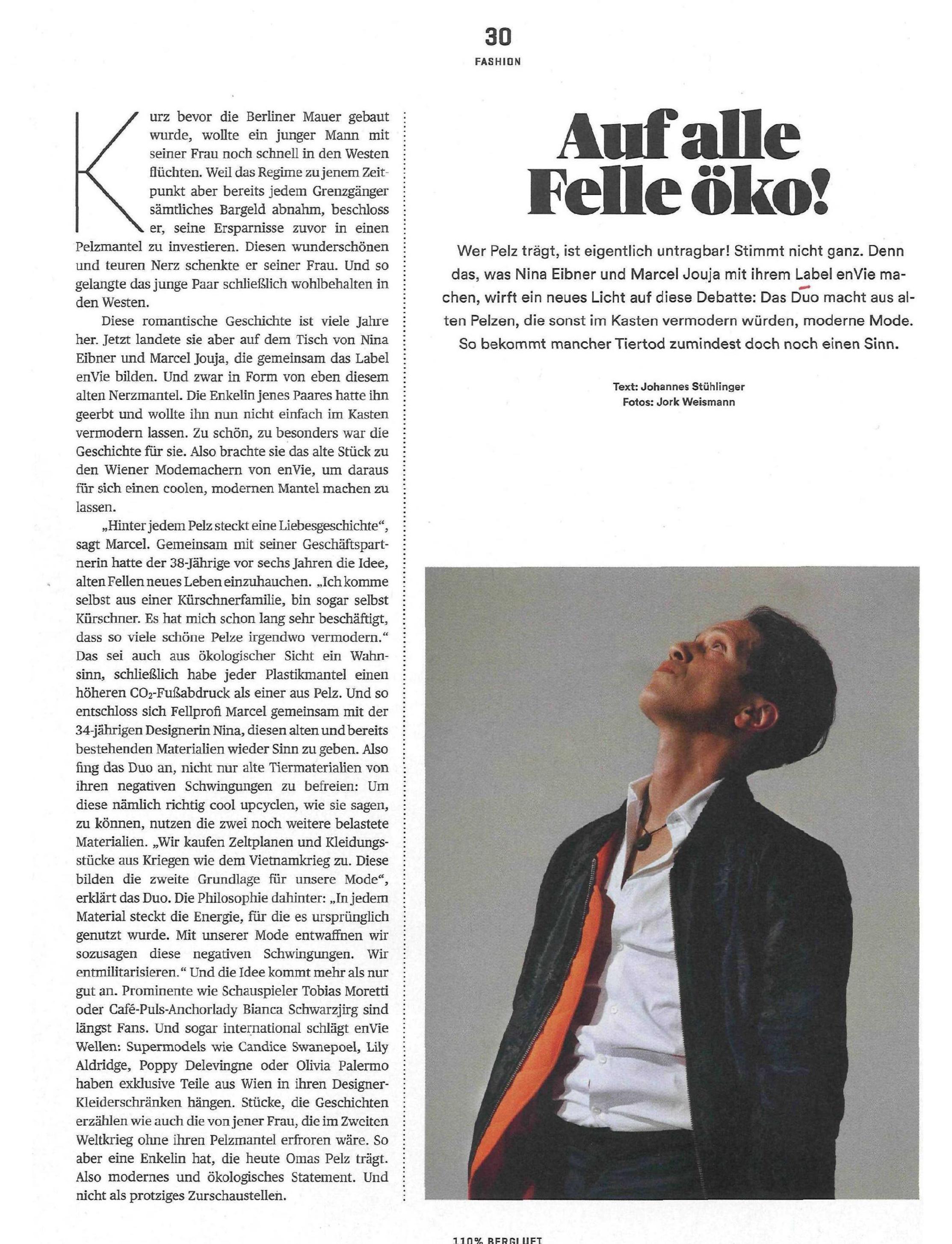 """Sonderheft Die PRESSE Ausgabe 04/2016 """"110% Magazin - Bergluft"""""""