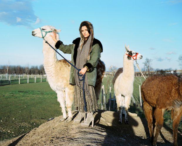 Lamaste - enVie Green Fur Couture