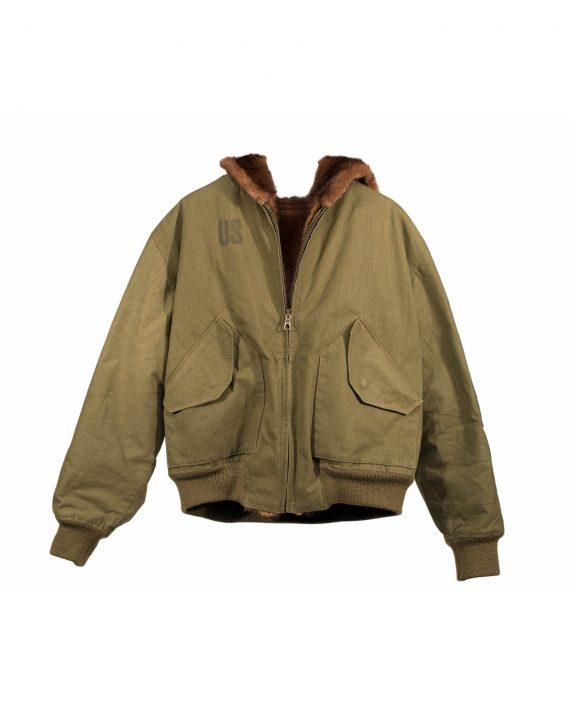 Mink Combat Flight Jacket