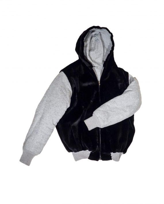 Hoody Allen Vest feat. Silk Mink