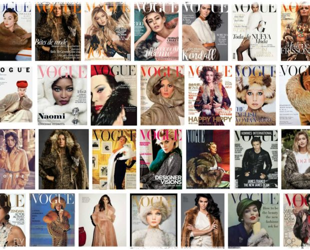 US Vogue reports - VOGUE COVERS