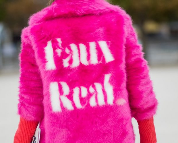 Faux Fur - Pink Fur - Faux Real.
