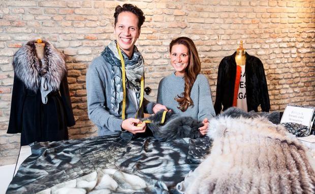 Marcel & Nina - Upcycling: wenn Omas Pelzmäntel zu coolen Parkas werden
